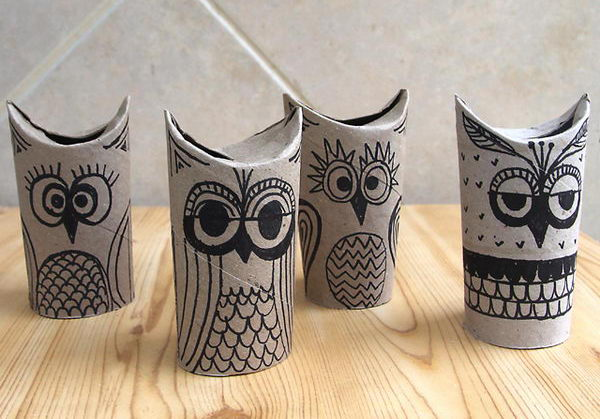 10 halloween owls craft
