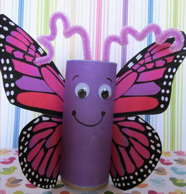 14-homemade-butterfly-craft