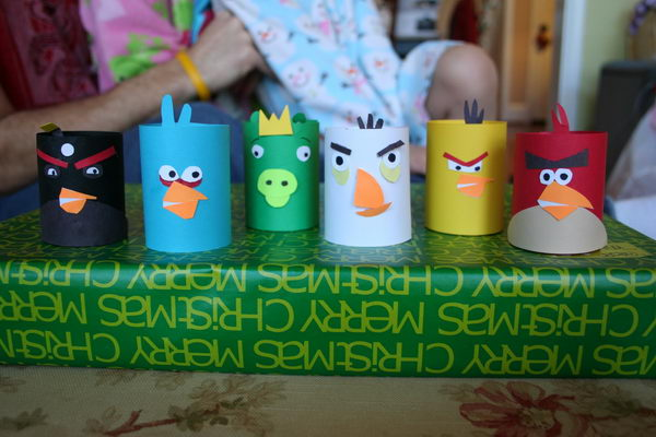 16 homemade angry birds