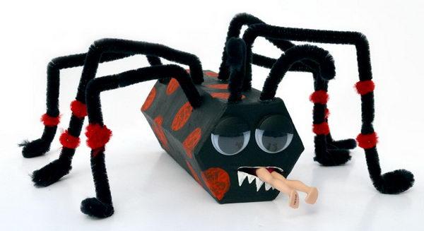 48 spiders for halloween