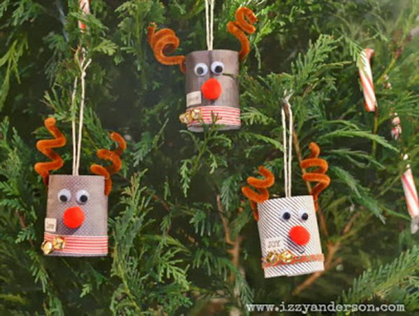 5 homemade reindeer craft
