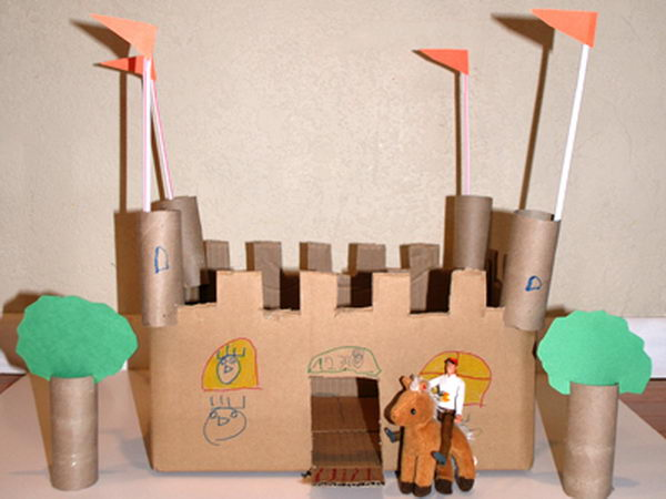 14 diy castle for kid