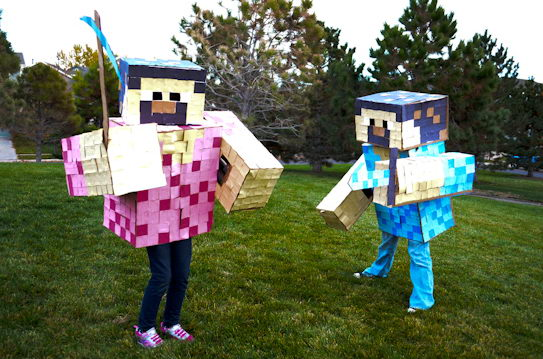 10 minecraft kid costume idea