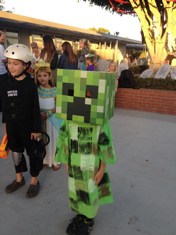 11 minecraft for kid costume
