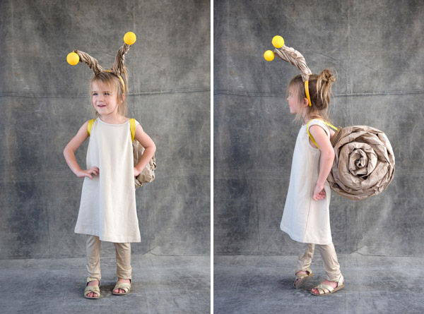 15 snail for kid costume