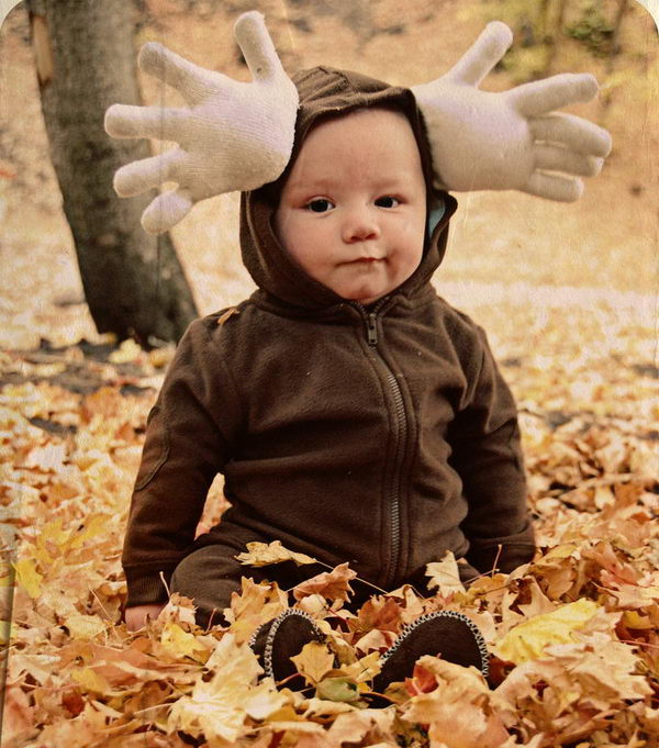 16 moose costume for kid
