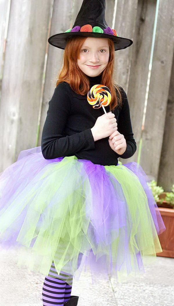 17 witch kid costume idea
