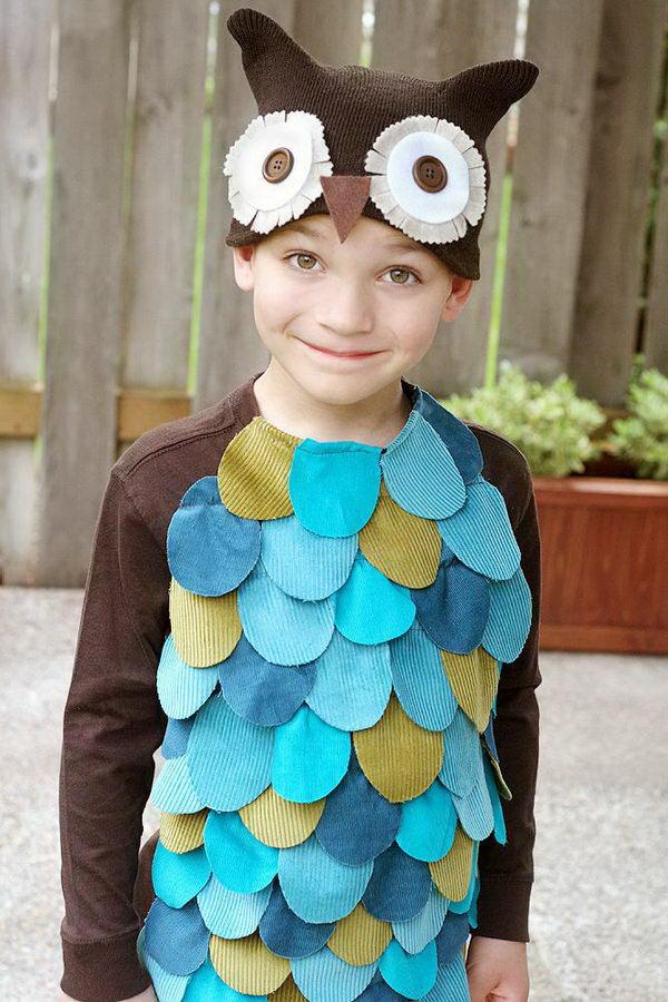 18-owl-kid-costume-idea