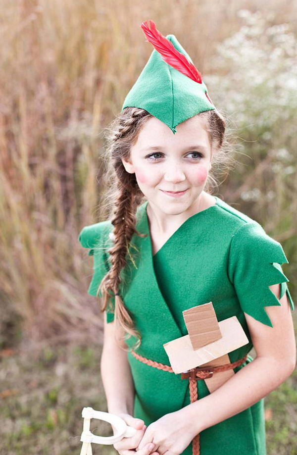 2 peter pan kid costume idea
