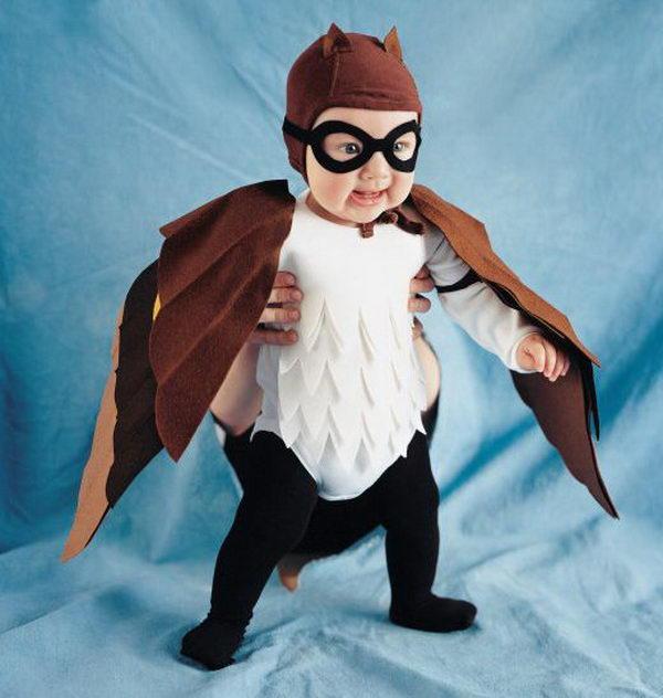 25 masked owl costume