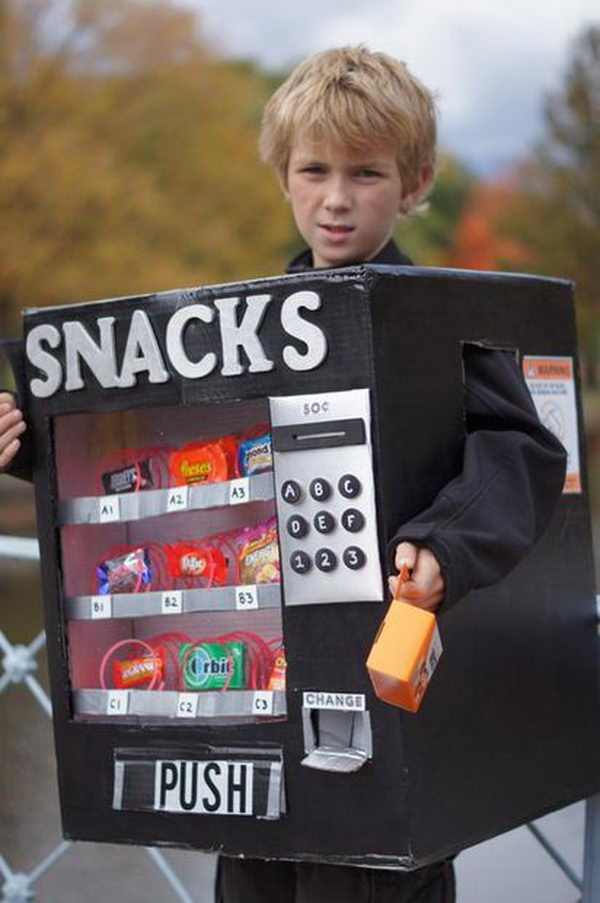 30 halloween vending machine costume