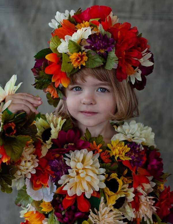 35 field of flowers costume