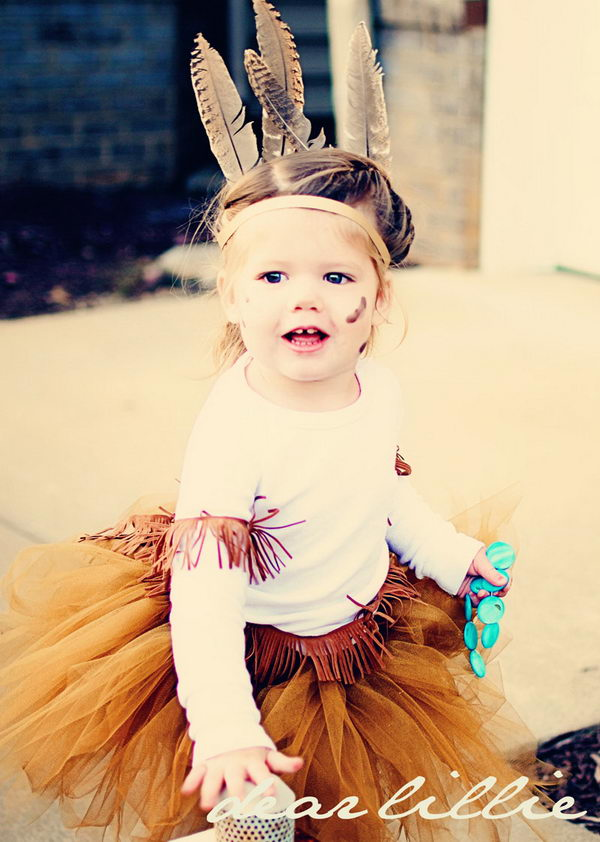47 little girl pocahontas costume