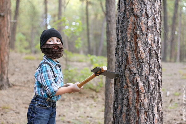 8 lumberjack halloween costume