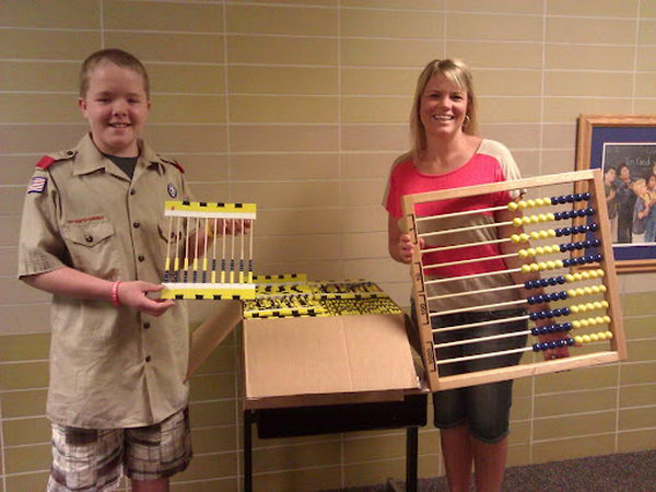 12 project abacus eagle scout
