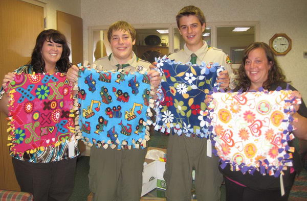 17 blanket making campaign for patients