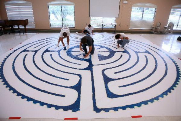 3 labyrinth building eagle scout