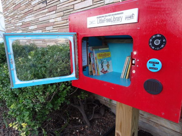 4 little free library eagle scout