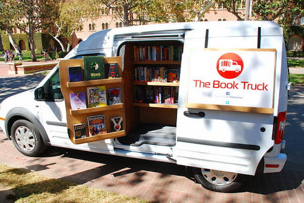 5 book truck eagle scout project