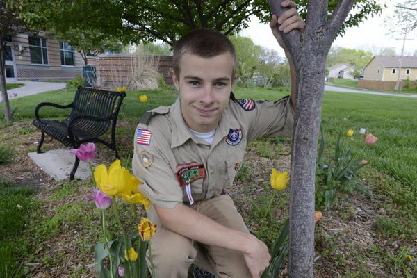 7 flower power eagle scout