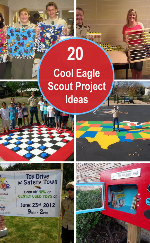 20 Cool Eagle Scout Project Ideas.