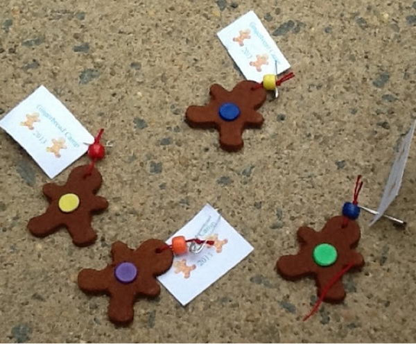 15 cinnamon gingerbread man swap