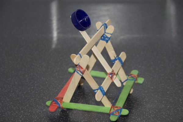 3 popsicle stick catapult
