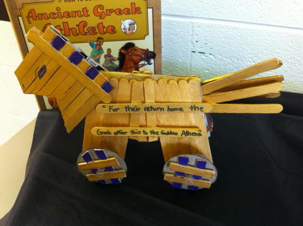 31 popsicle stick trojan horse