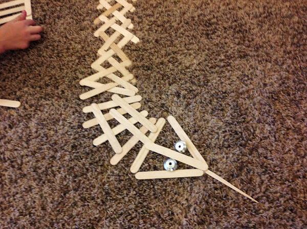 37 popsicle stick snake
