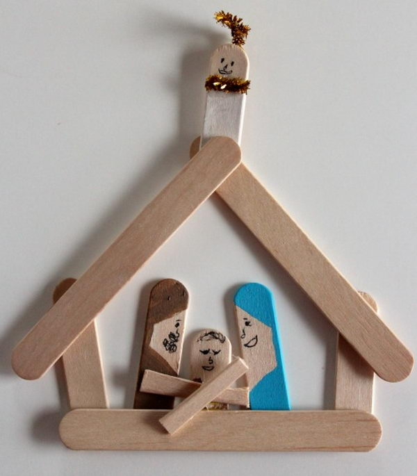 38 popsicle stick family