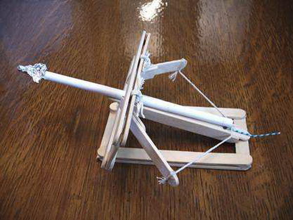 4 homemade stick ballista