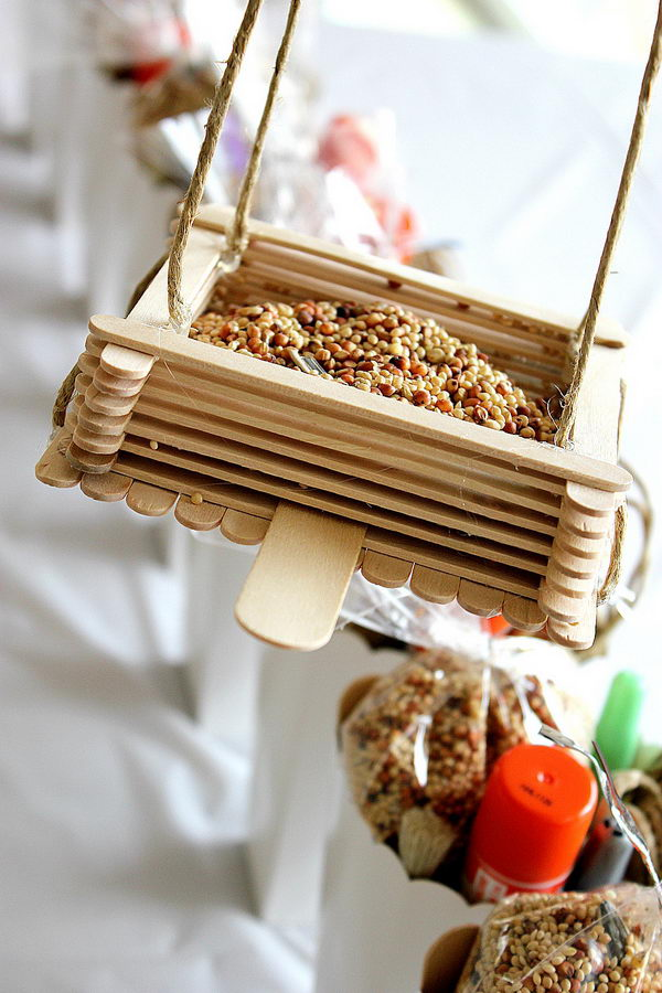 9 diy bird feeder
