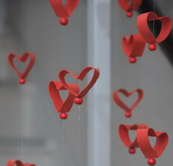 13 homemade valentine garland