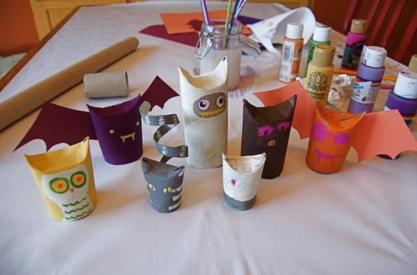 27 toilet paper tube halloween crafts