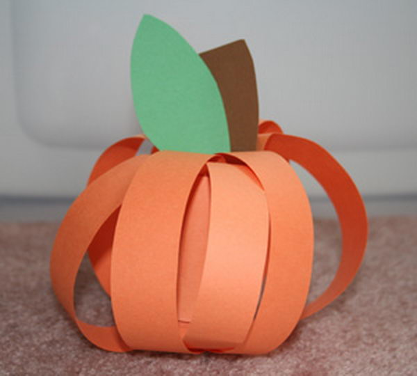 30 homemade pumpkin craft