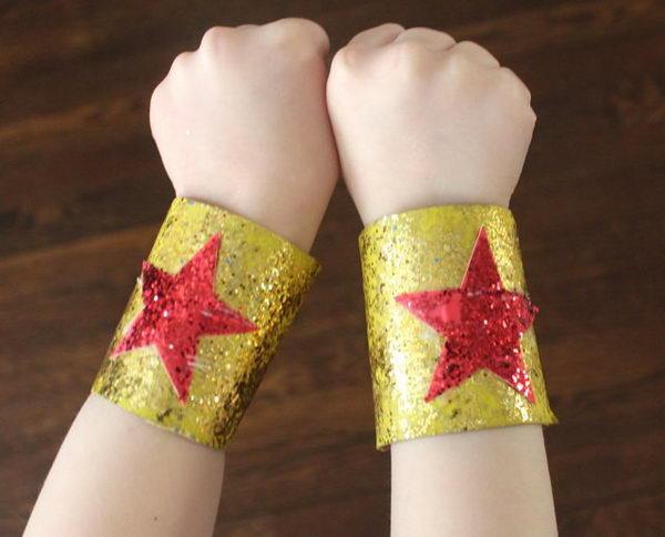 53 super hero bracelets