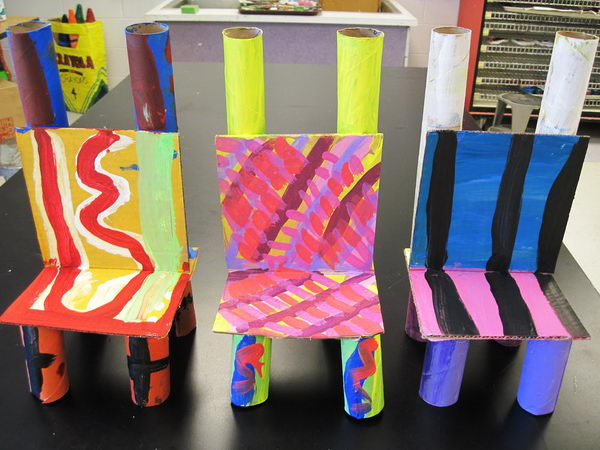 54 homemade chair crafts