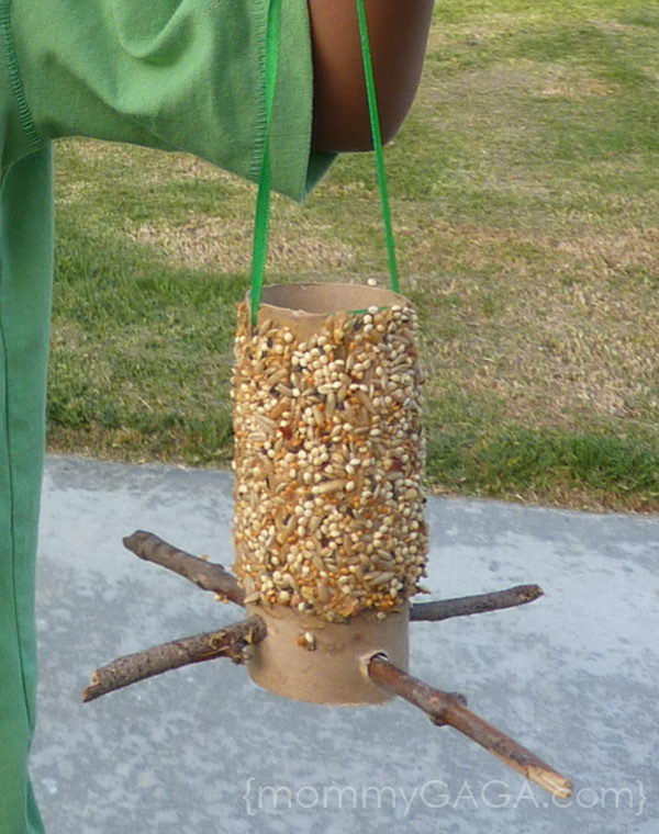 66 bird feeder craft