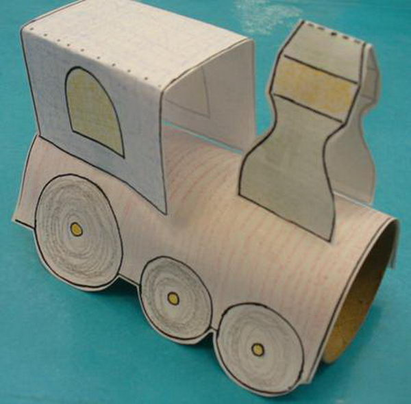 18-homemade-train-craft