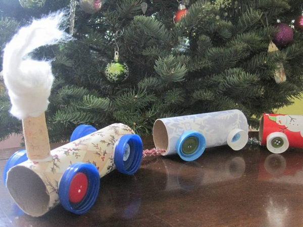 20 Homemade Transport Themed Toilet Paper Roll Crafts
