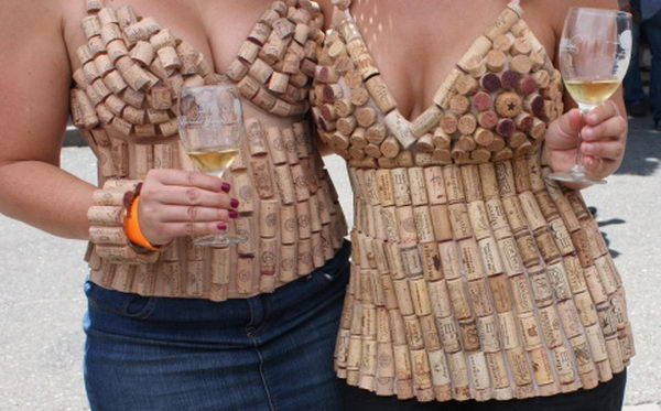 14 wine cork clothing for girl