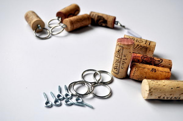 17 homemade key chains