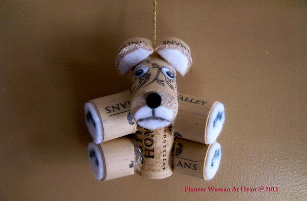 4 teddy bear ornament