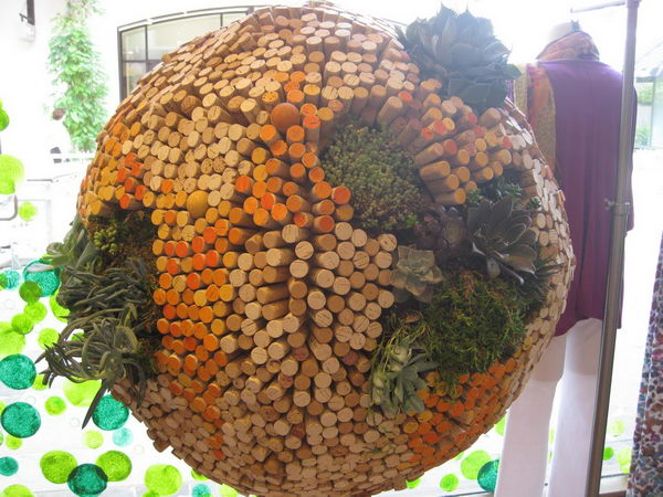 43 cork ball decoration