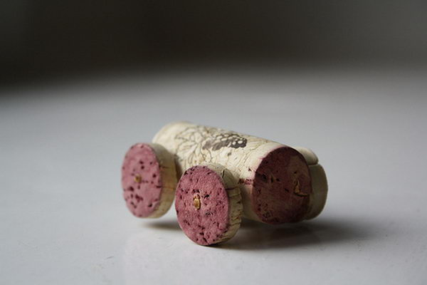 55 wine cork car craft