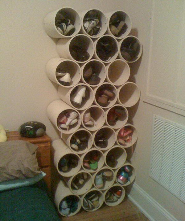 Cardboard Shoe Storage,