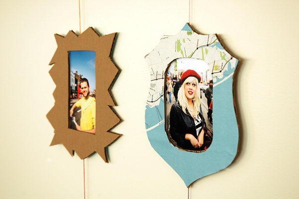 Cardboard Picture Frames,