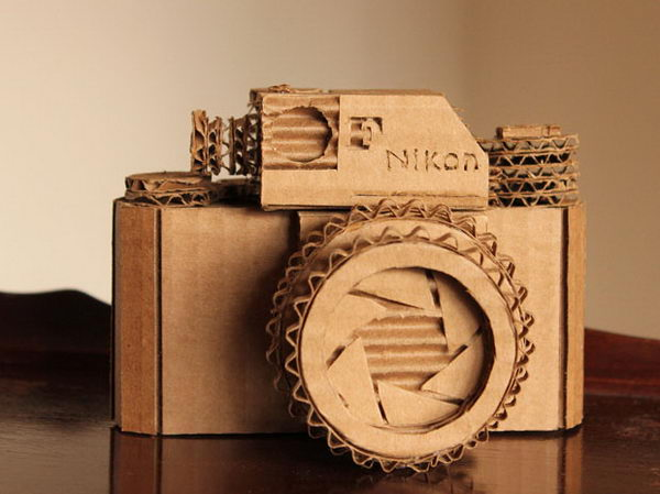 DIY Cardboard Craft Camera,