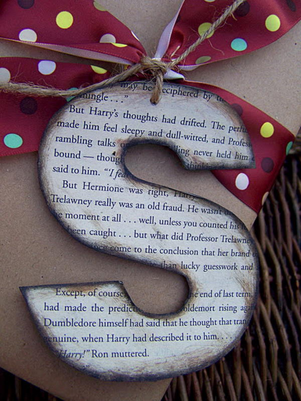 Gift Wrapping Letter,