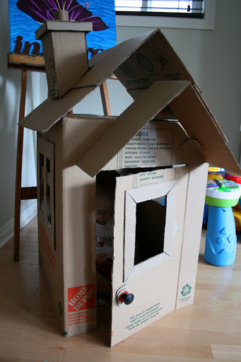 Car For Kids >> 30 Creative DIY Cardboard Playhouse Ideas